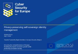 2019-07-03_Towards_Trustworthy_Digital_Identities_Idemix