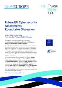 Future EU Cybersecurity Assessments Roundtable Programme