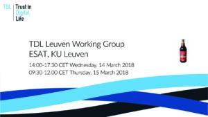 Leuven WG – 14-15 March '18 POST