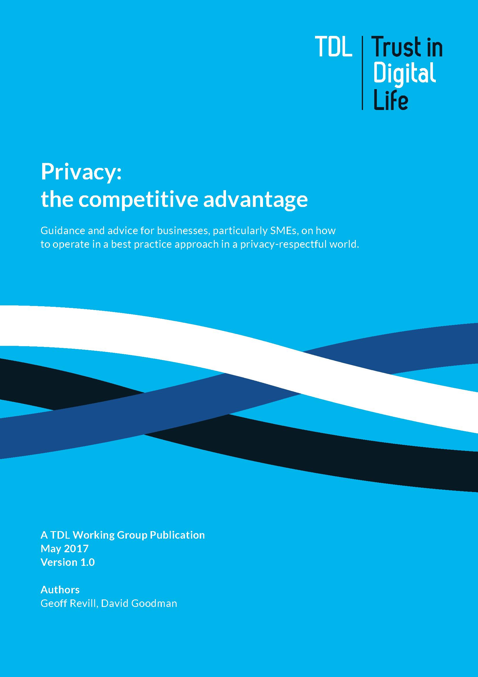 Privacy - The Competitive Advantage