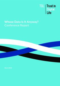 Whose Data Is It Anyway – Conference Report